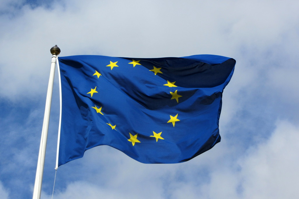 European_flag_in_Karlskrona_2011